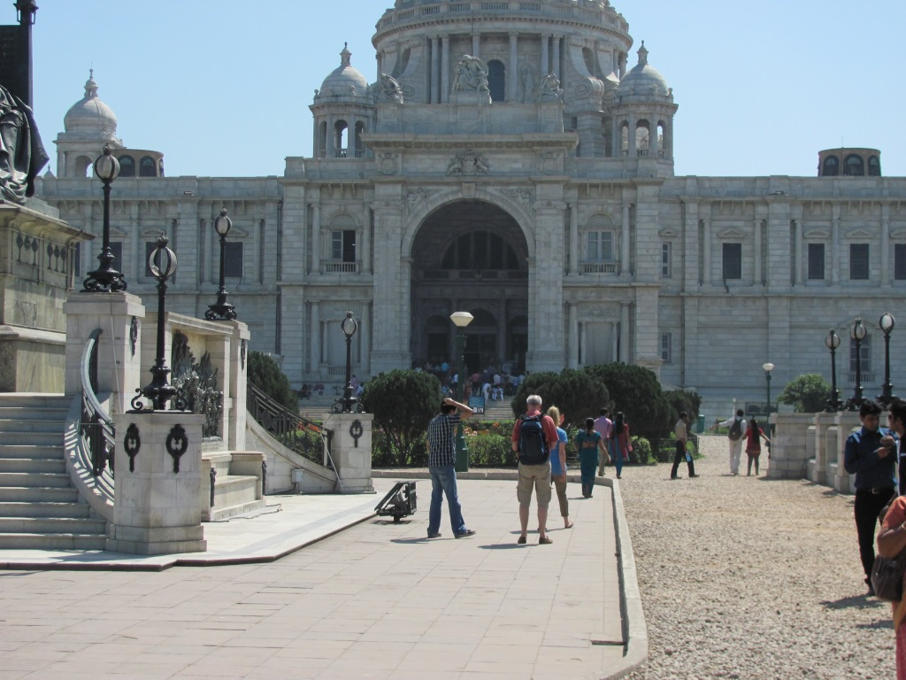 Victoria Memorial : a part of the structure