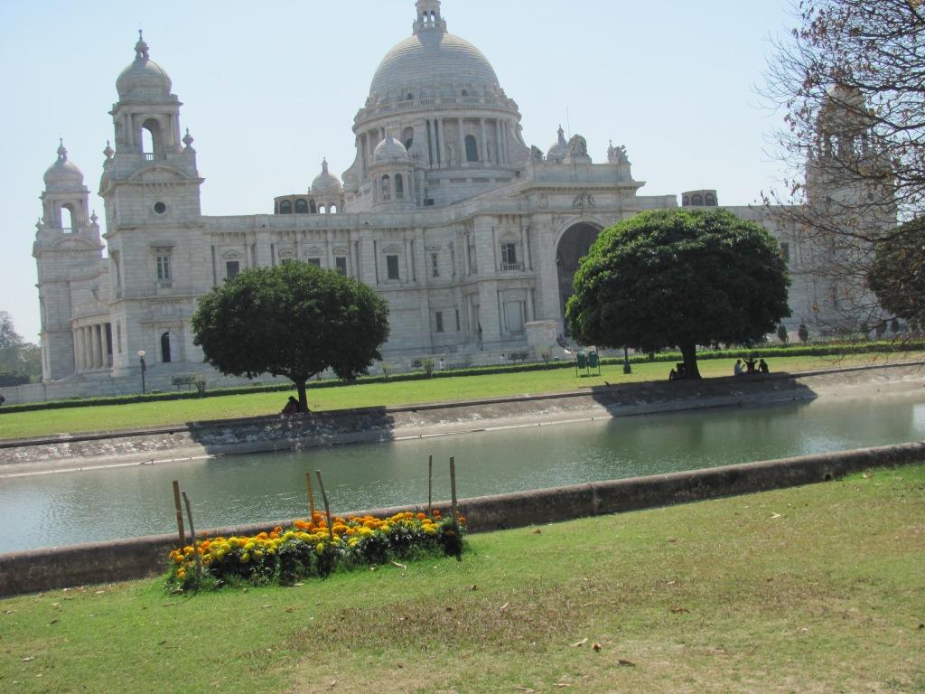 At the Victoria Memorial