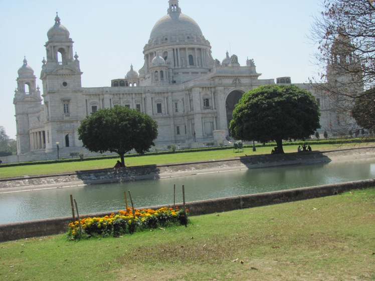 At the Victoria Memorial