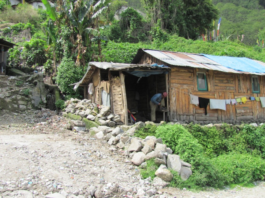 sikkim, along the highway