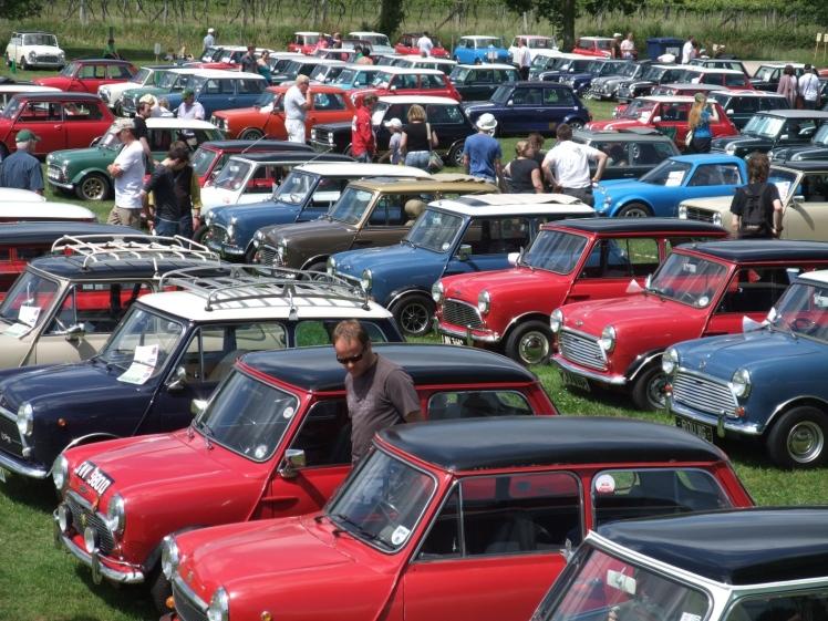 Beaulieu Mini Cooper Rally