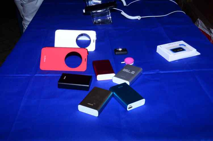 Some of the accessories that were unveiled