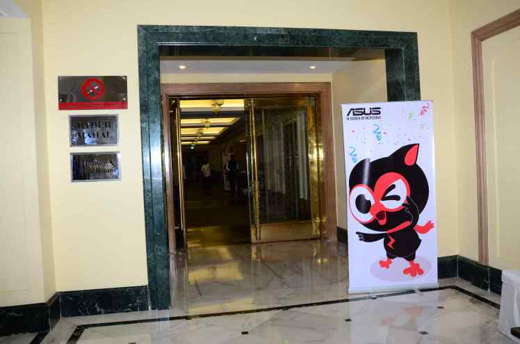 At the exclusive Asus ZenMeetUp at ITC Kakatiya at Hyderabad